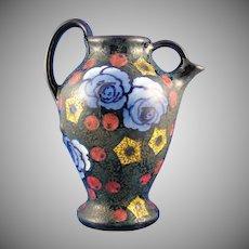 Amphora Austria Arts & Crafts Floral Pitcher (c.1905-1910)