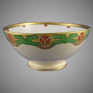 GDA Limoges Arts & Crafts/Mission Motif Bowl (c.1900-1941)
