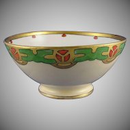 GDA Limoges Arts & Crafts/Mission Motif Bowl (c.1900-1941)