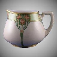 William Guerin & Co. (WG&Co) Floral Motif Lemonade Pitcher (Signed/c.1900-1932)
