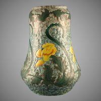 "Royal Bonn Germany ""Ruysdael"" Floral Design Vase (c.1890-1923)"