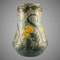 "Royal Bonn Germany ""Ruysdael"" Floral Design Vase (c.1890-1923)"