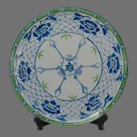 O&EG Austria Floral Design Plate (c.1899-1920) - Keramic Studio Design