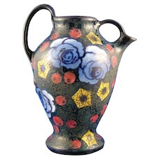Amphora Austria Arts & Crafts Floral Pitcher (c.1905-1910)