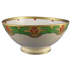 GDA Limoges Art Deco Design Bowl (c.1900-1941)