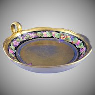 "Pickard Studios ""Fruits Linear"" Handled Dish/Tray (Signed ""Tolpin""/c.1905-1912)"