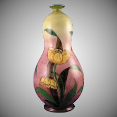 Royal Bonn Germany Old Dutch Tulip Motif Vase (c.1890-1923)