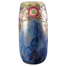 Royal Doulton Arts & Crafts Floral Motif Vase (Artist Mary Newsom/c.1923-1927)