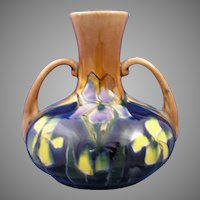 Old Moravian Austria Arts & Crafts Floral Vase (c.1899-1918)