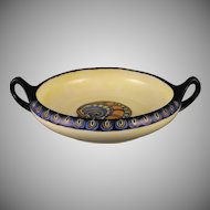 """RS Germany Handled Dish (Signed """"GJH""""/c.1910-1925)"""