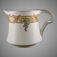 PL Limoges Grape Motif Pitcher (c.1905-1930's)