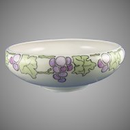 T&V Limoges Grape Motif Bowl (c.1892-1920)