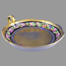 "Pickard Studio ""Fruits Linear"" Handled Dish (Signed ""Tolpin""/c.1905-1912)"