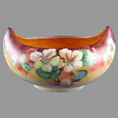 Classio Bavaria Nasturtium Design Bowl (c.1910-1930's)