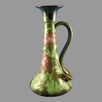 Amphora Austria RStK Arts & Crafts Poppy Design Candlestick (c.1900-1904)