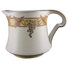 PL Limoges Grape Design Pitcher (c.1905-1930)