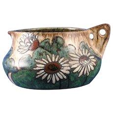 Stellmacher Amphora Austria Arts & Crafts Handled Pitcher (c.1905-1910)