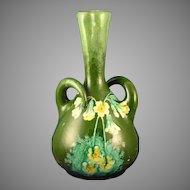 Austrian RStK Amphora Arts & Crafts Floral Motif Vase (c.1900-1905)
