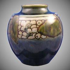 Royal Doulton Arts & Crafts Organic Motif Vase (Signed/c.1923-1927)
