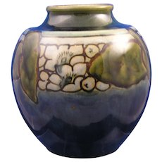 Royal Doulton Lambeth Arts & Crafts Organic Motif Vase (Signed/c.1923-1927)