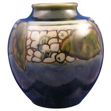 Royal Doulton Lambeth Arts & Crafts Organic Motif Vase (Signed/c.1923-1927)