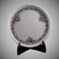 Rosenthal Donatello Bavaria Floral Motif Trivet/Plate (Signed/c.1907-1920)
