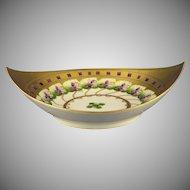"""Pickard Studios """"Violet Border"""" Design Bowl (Signed """"Albert H. Wagner""""/c.1912-1918)"""