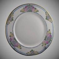 Charles Ahrenfeldt (CA) Limoges Enameled Floral Plate (Signed/c.1894-1930)