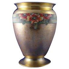 Schonwald Porcelain (PSAA) Bavaria Poppy Design Vase (c.1920-1930)