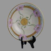 "White's Studio Chicago Floral Design Bowl (Signed ""Keates"" /c.1914-1923)"