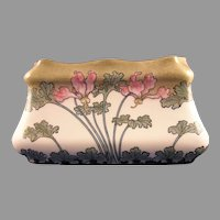 Ernst Wahliss Amphora Austria Cyclamen Motif Vase/Planter (c.1899-1918)