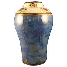 Royal Doulton Arts & Crafts Rose Motif Vase (Signed by Lily Partington /c.1923-1927)