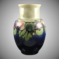 Large Royal Doulton Arts & Crafts Fruit Motif Vase (Signed/c.1923-1927).