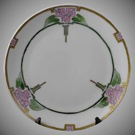 Thomas Bavaria Glasgow Rose Motif Plate (Signed/Dated 1915) - Keramic Studio Design