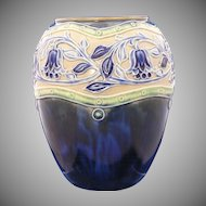 Royal Doulton Arts & Crafts Floral Motif Vase (c.1923-1927)