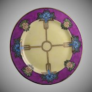 Haviland Limoges Floral Motif  Plate (Signed/c.1910-1931) - Keramic Studio Design