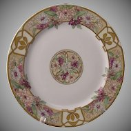Haviland Limoges Enameled Floral Design Plate (c.1894-1931)