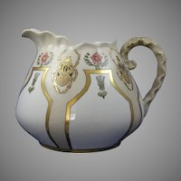 Bavaria Egyptian Revival Scarab Motif Pitcher (c.1908-1930) - Keramic Studio Design