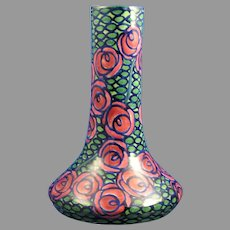 Amphora Austria Ernst Wahliss Art Deco Floral Design Vase (c.1903-1918)