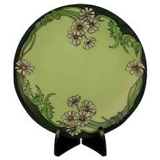 "D&Co. Limoges Daisy Design Plate (Signed ""H. Walne""/c.1901-1930) - Keramic Studio Design"