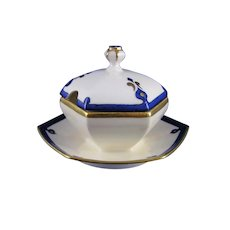 Limoges 'Mark 6' Art Deco Condiment Dish (c.1910-1930)