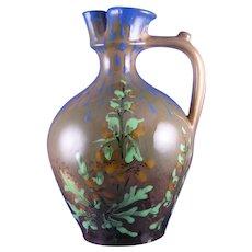 RStK Amphora Austria Arts & Crafts Floral Design Pitcher (c.1900-1904)