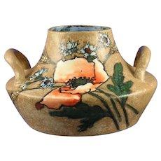 Stellmacher Amphora Austria Poppy Design Handled Vase (c.1905-1910)