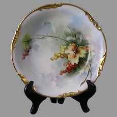 Smith Ceramic Studios Rochester, New York  - JP Limoges Currant Design Bowl (c.1908-1930)