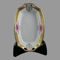 Pickard Studios Floral Design Dish (c.1912-1918)