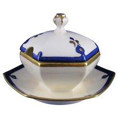 Limoges 'Mark 6' Art Deco Condiment Dish (c.1910-1930's)