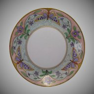 France Studio Chicago Butterfly Motif Plate/Charger (c.1906-1916)