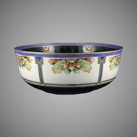 Moritz Zdekauer (MZ) Austria Acorn Motif Bowl (c.1916-1930) - Keramic Studio Design