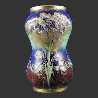 RStK Amphora Austria Enameled Floral Design Vase (c.1899-1905)