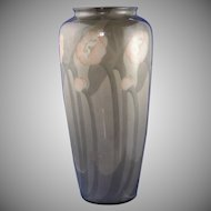 "Ceramic Art Co. (CAC) Belleek (American) Floral Motif Vase (Signed ""Blackmore""/c.1906-1924)"
